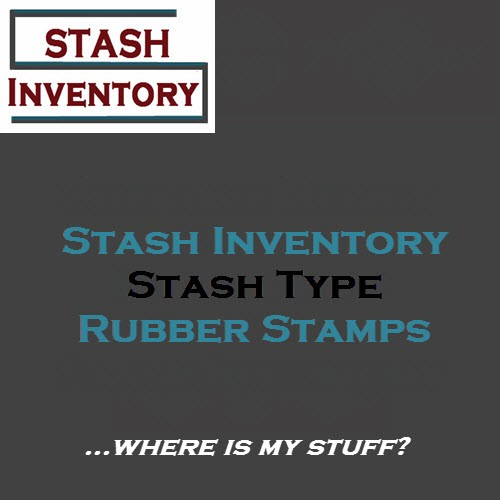 Stash Type - Rubber stamps